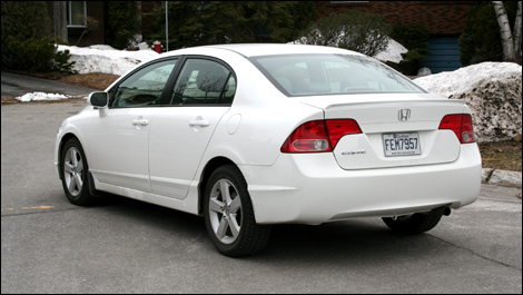 At Nearly $25,000, The 2008 Honda Civic EX L Could Be Described As An  Upscale Compact Sedan.