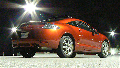 2008 Mitsubishi Eclipse GT-P Review (video)