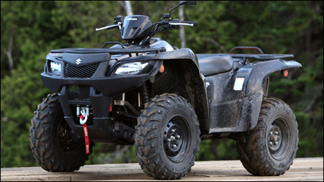 2008 Suzuki KingQuad 450 Review