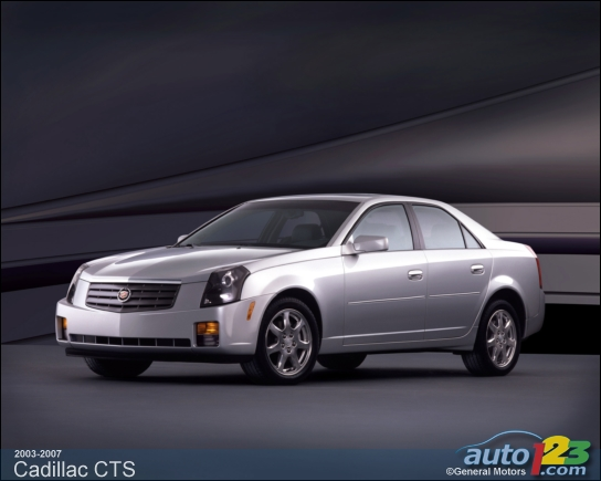 photos cadillac cts 2003 2007 occasion. Black Bedroom Furniture Sets. Home Design Ideas