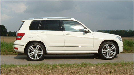 mercedes benz glk350 2010 premires impressions. Black Bedroom Furniture Sets. Home Design Ideas