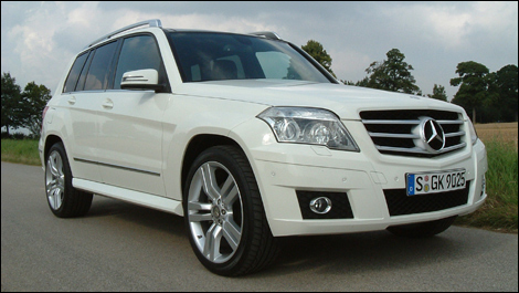 2010 mercedes benz glk350 first impressions. Black Bedroom Furniture Sets. Home Design Ideas