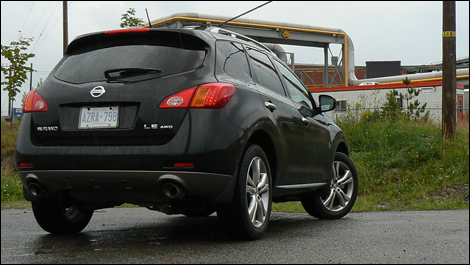 2009 nissan murano le awd review video. Black Bedroom Furniture Sets. Home Design Ideas