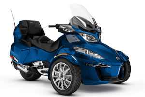 moto tourisme vendre can am spyder rt limited chrome. Black Bedroom Furniture Sets. Home Design Ideas