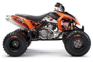 ktm 450 xc atv 2009 - vtt | moto123