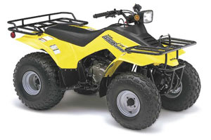 2005 suzuki quadrunner 160 atv moto123 com rh moto123 com LT 160 Suspension LT 160 Suspension