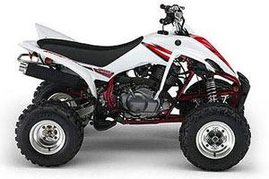 2005 Yamaha Raptor 350 - ATV | moto123.com