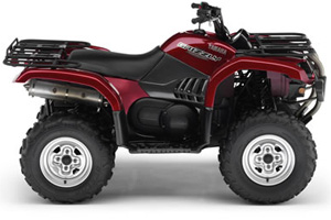 Yamaha grizzly 660 rouge m tallique 2006 vtt for 2006 yamaha grizzly 660 value